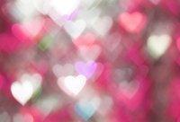 fondos de escritorio de san valentín al por mayor-Laeacco Photo Backdrops Love Heart Light Bokeh Fiesta Día de San Valentín Niño Bebé Patrón Fotografía Fondos Foto Estudio