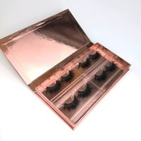 Wholesale eyelashes extensions prices resale online - 3D Mink Eyelashes Customized Packaging Your Logo mm Long styles are optiona Price Real Siberian Mink Strip Extensions