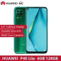 Wholesale octa core resale online - Original HUAWEI P40 Lite GB GB quot FullView Display Kirin810 Octa core EMUI MP Four Camera Fast charge NFC