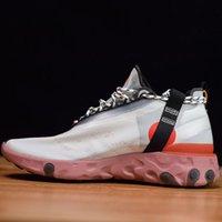 zapato de hombre único al por mayor-Diseñador 2019 hombres de la marca zapatillas de deporte reaccionar LW WR Mid Low ISPA zapatillas deportivas únicas nuevas moda para hombre mujer entrenadores zapatillas deportivas con caja