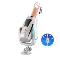 pistolenvibratoren groihandel-Automatische Teleskop Sex Machine für Frauen Pumpen Gun Thrusting Dildo Vibrator Female Masturbation Sex und Erotik