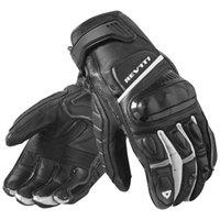 weiße schwarze motorradhandschuhe großhandel-2018 Neue 3 Farben Revit Chicane Schwarz / Weiß Moto Motorrad-Straßen-Art Handschuhe Motorradsport Handschuhe kurz