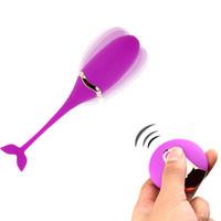 frauen entfernt großhandel-Danceyi g-spot Vibrator Vibrierendes Ei Drahtlose Kaulquappe Fernbedienung Sex Toys für Frauen USB Wiederaufladbare