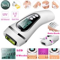 ingrosso laser faccia-Sistema di epilazione permanente IPL Laser Epilatore viso e corpo Home Skin Rejuvenation per donne uomini
