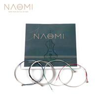 NAOMI Violin String For 4 4 3 4 Violin Strings New Strings Steel G D A & E Strings Violin Parts Accessories SET