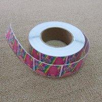 ingrosso materiale adesivo smontabile-Adesivo autoadesivo ecologico materiale autoadesivo rimovibile personalizzabile in carta patinata colorata