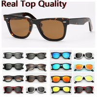 модные солнцезащитные очки real оптовых-Фирменные мужские солнцезащитные очки Дизайнер женщина солнцезащитные очки Мода с Real UV400 Солнцезащитные очки Линзы отстойных Солнцезащитные очки с Top кожаный чехол