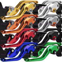 Wholesale adjustable brake levers resale online - For Gilera Runner Runner Motorcycle CNC Aluminum Adjustable Brake Clutch Levers