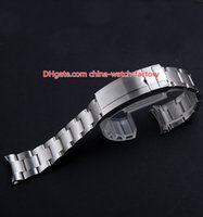 Wholesale strap for sell for sale - Group buy Hot Selling mm SUB Watch Bands Strap Stainless Steel Bracelet Buckle Deployment Safety Folding Clasp For mm Watches