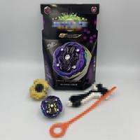 spin meister spielzeug großhandel-Neu Toupie Beyblades Metal Fusion Kreisel B-143 Master Bayblade Mit großem Pull Launcher Griff und Colorbox Toys