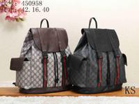 mochilas de señoras de calidad al por mayor-3A + cuero de alta calidad 2019 de lujo para hombres y mujeres mochila diseñador mochila damas diseñador 42 * 16 * 40cm