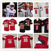 cf5e2da91 Wholesale football jersey cardinal online - Custom NCAA Louisville  Cardinals football Jersey Jaire Alexander Trevon Young
