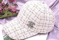 gorras de béisbol de moda al por mayor-Sombreros de moda y para mujer Sombreros de primavera / verano Protección solar Gorra de béisbol de moda popular 2019 transpirable para todo uso sol de viaje
