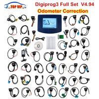 digiprog volle set kabel großhandel-DHL frei mit vollen Kabeln !! v4.94 Version des vollen Satzes Neueste V4.94 Version Voll Digiprog III / Digiprog 3 Entfernungsmesser-Programmierer