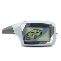 iki yönlü araba alarm sistemleri toptan satış-Ücretsiz Kargo Magicar 5 SCHER-KHAN LCD uzaktan kumanda İki yönlü Araba Alarm Sistemi MAGICAR 5 uzaktan
