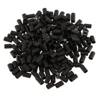 Wholesale micro link tubes resale online - Bulk Black mm Heat Shrink Adhesive Lined Tubes Micro Rings Links Beads for I Bonded Tipped Hair Extensions