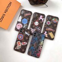 tintas máximas venda por atacado-Top designer rígido pc pintado padrão phone case para iphone x xs xr max 8 8 plus 7 7 plus 6 6 s luxuty smartphone tampa traseira casos shell