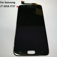 pantalla de repuestos iphone al por mayor-para Samsung Galaxy J7 2018 J737 Pantalla LCD digitalizador de pantalla táctil para Samsung Galaxy J737P Pantalla LCD Repuestos de reparación + Herramientas