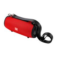 bilgisayarın ses çubuğu toptan satış-TG125 20 W Kablosuz Bluetooth Hoparlör Taşınabilir Sütun Hoparlör Bluetooth Soundbar Müzik Çalar Boom Box Ile FM Radyo Bilgisayar Subwoofer