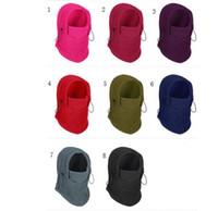güneş koruma maskeleri toptan satış-Sıcak Cadılar Bayramı maskesi Fonksiyonlu sihirli başörtüsü Açık Sürme maskesi önlük Güneş koruma toz eşarp Rüzgar şapka 8 renk 50 adet lin4576