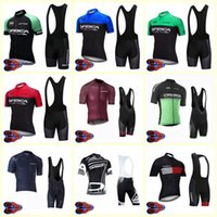 bicycle team cycling clothing بالجملة-2020 ORBEA team Cycling Short Sleumps jersey shorts set Men Dyches MTB Bicycle Wear Quick dry U20042005