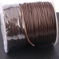 Wholesale leather jewelry findings for sale - Group buy 130 meters roll mm thickness pu leather cord for pendants necklace making diy jewelry finding accessories