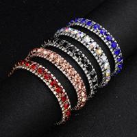 Wholesale discount bracelets online - Bridal Bracelets Rhinestones Beaded Wedding for Bridal Colors The Great Gatsby Bracelets Girls Party Accessories Bulk Discount Factory