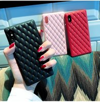 Wholesale i phone cases accessories for sale - Group buy For IPhone X XS Max s Plus Case Luxury Designer Pu Leather Back Cover Aurora Protective for I Phone plus Cell Phone Accessories