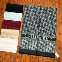 Wholesale woman wearing rings resale online - Fashionable latest lady s scarf silk and cotton alphabet scarf shawl designer scarf size cm comfortable to wear