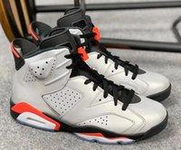 ingrosso scarpe d'argento di qualità-2019 6s JSP 3M Bugs infrarossi riflettenti Bunny scarpe da basket uomo 6 argento nero a infrarossi scarpe da ginnastica sportive di alta qualità con la scatola