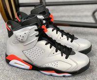 zapatos de plata de calidad al por mayor-2019 6s JSP 3M infrarrojos reflectantes Bugs Bunny zapatos de baloncesto de los hombres 6 plata negro infrarrojo zapatillas deportivas de alta calidad con caja