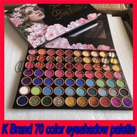 Wholesale famous eyeshadow palettes resale online - 2019 Famous KL Eye Makeup Eyeshadow Palette Shimmer Glitter Matte D Sexy Goddess Colors Preseed Pigment Eye Shadow Palette