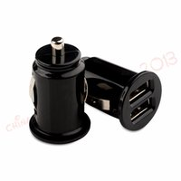 Wholesale android mini pc gps for sale - Group buy mini dual usb ports A Car charger auto power adapter for iphone x samsung s7 s8 android phone gps pc mp3