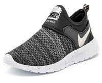 zapatos para niños gratis al por mayor-New Colors Kids Running Shoes Baby Children Runner Sports Shoes Boys Girls Athletic Shoes envío gratis