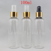 Wholesale empty plastic spray bottle pump resale online - 100ml X Clear Fine Spray Plastic Bottle cc Makeup Setting Spray Pump Container Empty Perfume Bottles PET Mist Sprayer