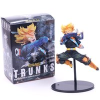 Wholesale Dragon Ball Z BWFC Super Saiyan Trunks Figure PVC Action Figure Model Dragonball Trunks Toys
