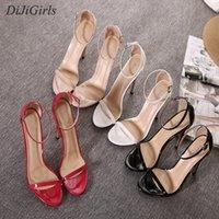 10567687f DiJiGirls New style Women Sexy High Heels Mixed Buckle Strap Peep Toe  Celebrity Sandals Pumps Nightclub Shoes US5-US9