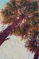 palmeiras de lona de óleo venda por atacado-Arte moderna da parede da lona da Arte -final-palm-colour-triptych-2 Unframed para a decoração da casa e do escritório, pintura a óleo, painatings animais, quadro.