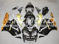 motocicleta carenagem corpo kit zx6r venda por atacado-3 Presentes Hot novo kit de carenagem da motocicleta ABS Para Kawasaki Ninja 636 ZX6R 2005 2006 corpo da carenagem da motocicleta personalizado Preto