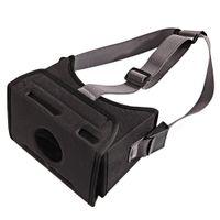 universal 3d vr großhandel-Film Universal VR Spiel Stretched Strap Virtual Reality 3D Brille Durable Kopf Montiert EVA Easy Wear Home Schwarz Für Schalter
