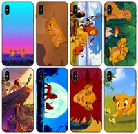 Wholesale iphone 5c tpu cute cases for sale – best TongTrade Simba Baby Cute Little Lion King Case For iPhone Pro Max X XS s s c Plus Galaxy A6S Honor i HTC U11 Case