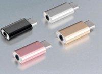 adaptateur micro jack achat en gros de-Adaptateur audio USB C à 3.5mm pour microphone externe 3.5mm Jack audio Casque Mic Adapte
