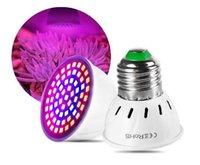 ingrosso l'impianto di idroponica della tenda aumenta le luci-Full Spectrum E27 220V LED Pianta Grow Light Bulbo Fitolampy Phyto Lamp per piante da giardino Indoor Fiore Idroponica Grow Tent Box