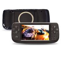 пап игровая консоль оптовых-2019 новейшая PAP K3 4,3-дюймовая HD игровая приставка Портативная портативная игровая приставка Игровые приставки с розничными коробками