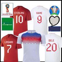 Wholesale uniforms england resale online - 2019 UK England Training Soccer Jersey Black Pink VOLT KANE DELE Soccer Shirts LINGARD VARDY Football uniform
