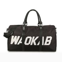 Wholesale luggage for sale - Unisex Large Letter Travel Bag Men Handbags Luggage Sports Fitness Bag big Capacity Weekend Bags Women Shoulder bags QQA333