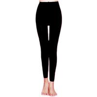 женская тазобедренная форма оптовых-Stretchy Women Pants Hip Lift Compression Leg Shaping Leggings Autumn Winter Elastic Fat Burning 3D Cutting Pressurized Soft