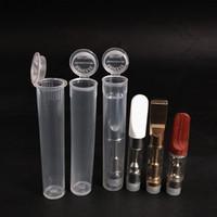 limoflaschen großhandel-1200 Pack 98 mm Doob stumpfe Verbindungsrohr Leere Squeeze Pop Top Flasche vorgewalzte Röhrchen Vorratsbehälter UPS FEDEX Kostenloser Versand