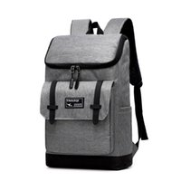 Wholesale retro school backpacks for sale - Group buy Large Capacity Laptop Backpack Women Canvas Bags Men Oxford Travel Leisure Backpacks Retro Casual Bag School Bags For Teenager