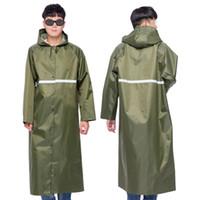 kamp yürüyüş yağmurluk toptan satış-Yağmur panço Uzun tarzı yağmurluk 170-185 cm için miras Yağmurluk Panço Hood Seyahat Gezisi Kamp Yürüyüş RainCoat Oxford Kullanmanız Gerekir # 319359